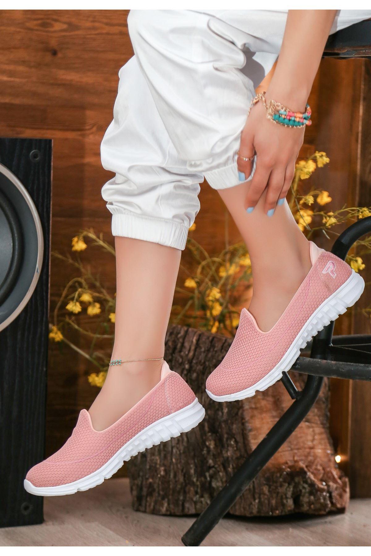 Wian Pudra Streç Spor Ayakkabı