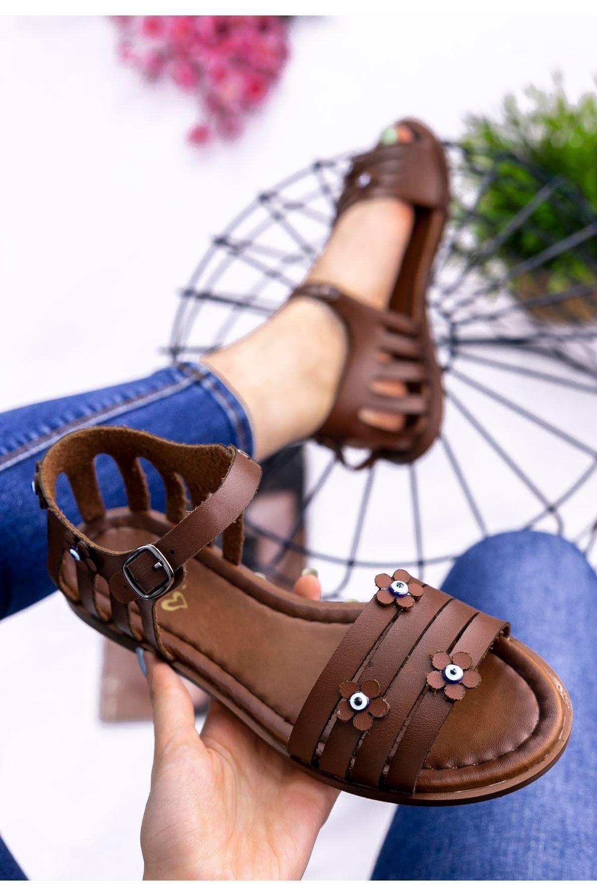Antony Taba Cilt Sandalet