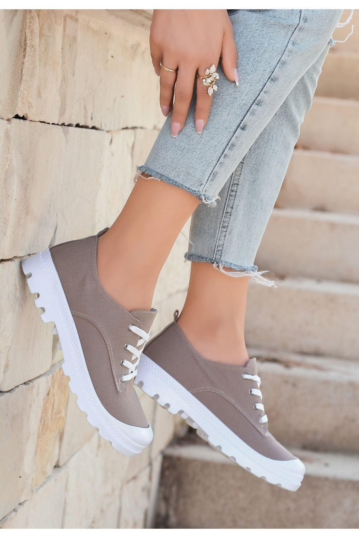 Mash Vizon Keten Bağcıklı Spor Ayakkabı