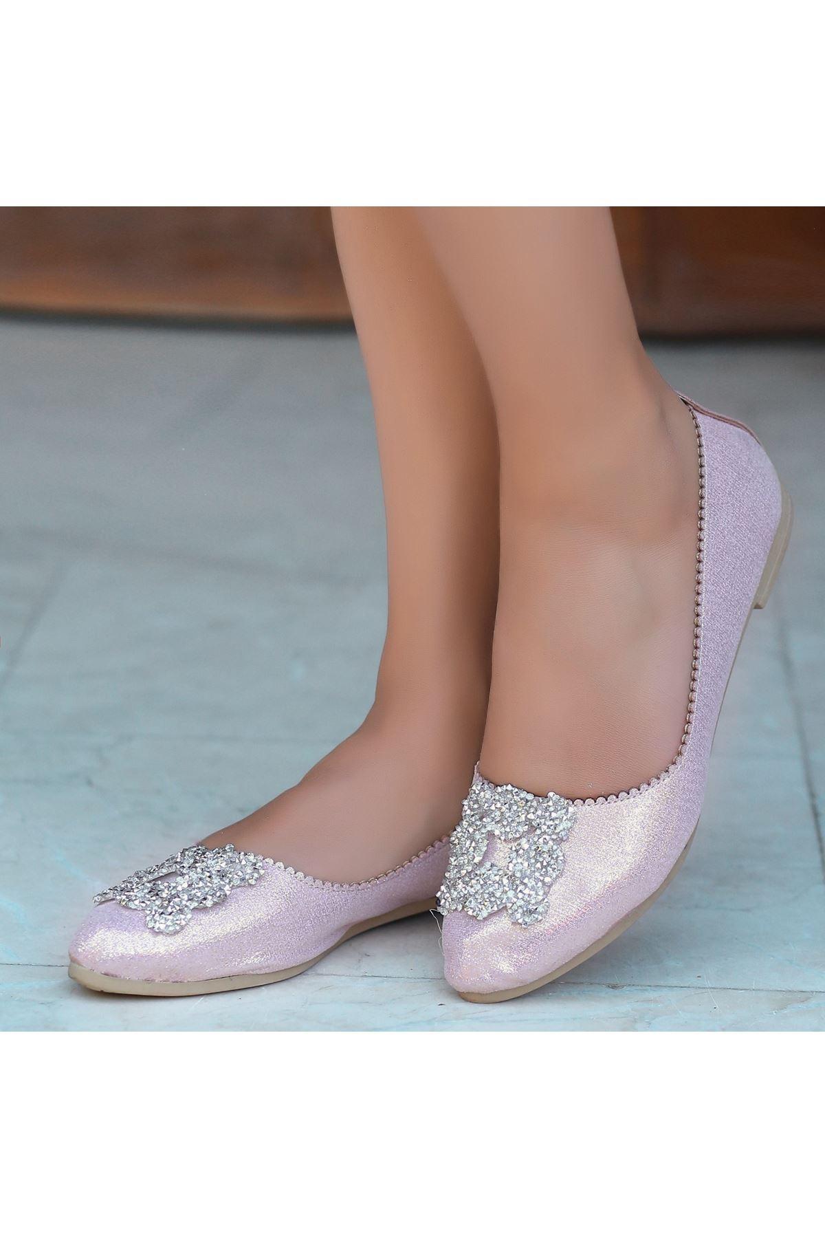 Jian Pudra Cilt Babet Ayakkabı