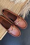 Soho Taba Deri Tokalı Rok Babet Ayakkabı